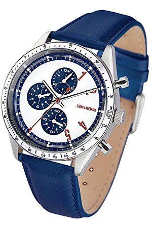 Zadig & Voltaire Męski zegarek kwarcowy ze skórzanym paskiem ZVM1108