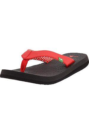 Sanük Yoga Mat 29418063, damskie sandały/japonki, czerwone (RED), EU 39 (US 8)