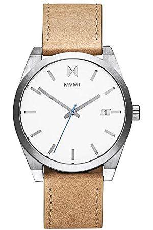 MVMT Męski analogowy zegarek kwarcowy ze skórzanym paskiem 2800040-D