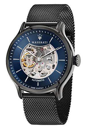 Maserati Zegarek męski, kolekcja Epoca, zegarek automatyczny, ze stali nierdzewnej, , R8823118006