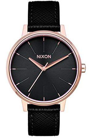 Nixon Kensington zegarek na rękę unisex skóra Rose Gold/Black