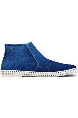 RIVIERAS Montante Blue Jean Espadryle, Blue Blue Jean 53-42 EU