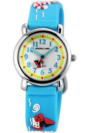 Excellanc Unisex Zegarek na rękę Analogowy Kwarc Kauczuk 407023500072