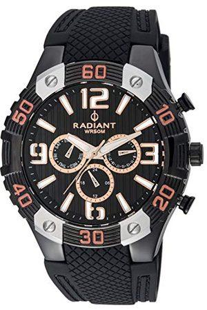 Radiant Męski analogowy zegarek kwarcowy z gumową bransoletką RA417603