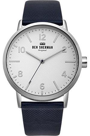 Ben Sherman Męski analogowy klasyczny zegarek kwarcowy z nylonowym paskiem WB070UB