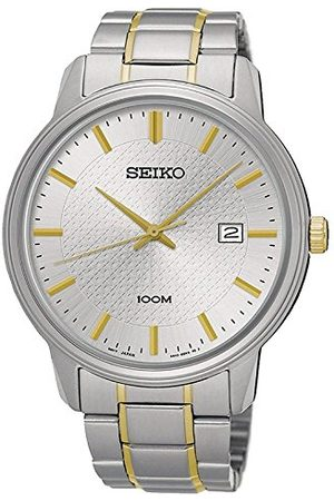 Seiko Męski zegarek SUR195P1 Bransoletka Gold/Silver