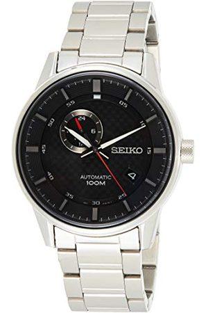 Seiko Mechaniczny zegarek męski ze stali nierdzewnej z metalowym paskiem SSA381K1