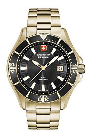 Swiss Military Hanowa Męski analogowy zegarek kwarcowy z bransoletką ze stali szlachetnej 06-5296.02.007