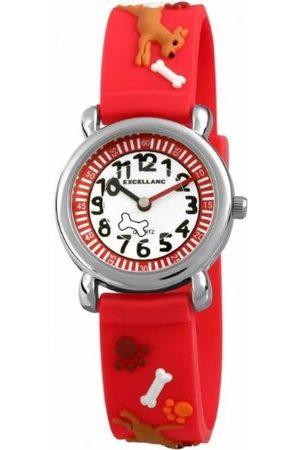 Excellanc Unisex zegarek na rękę analogowy kwarcowy kauczuk 40705000018