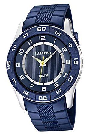 Calypso Chłopcy analogowy zegarek kwarcowy z plastikową bransoletką K6062/2
