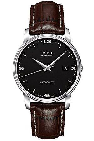 MIDO Męski analogowy automatyczny zegarek z bransoletką ze stali szlachetnej M0104081605110