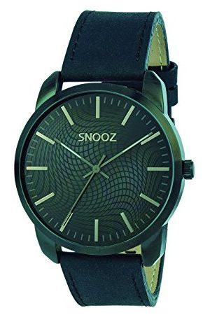 Snooz Męski analogowy zegarek kwarcowy ze skórzanym paskiem Saa1044-66