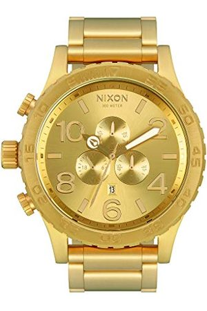 Nixon Męski zegarek kwarcowy chronograf z paskiem ze stali nierdzewnej A083-502-00