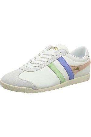 Gola Damskie buty typu sneaker Bullet Trident, - White Patina Green Vista Blue - 40 EU