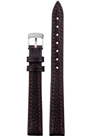 Morellato Bransoletka skórzana do zegarka męskiego DUBLINO brązowa 12 mm A01D075333034CR12