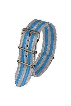 Davis BNN3BGREY/BLUE - 20-bransoletkowy zegarek na rękę-nylon