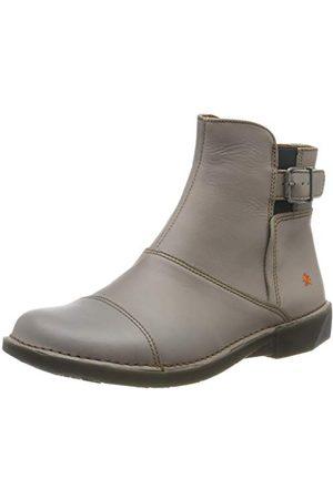 Art 0917 Grass Grey/Bergen buty damskie z krótką cholewką, - Grau Grey Grey - 38 EU