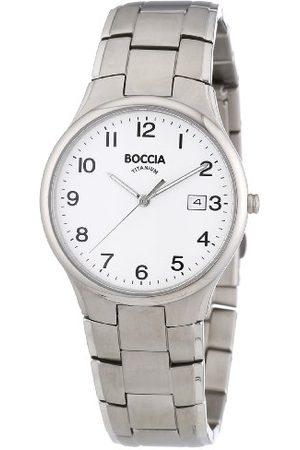 Boccia Trend 3512-08 męski zegarek z metalowym paskiem