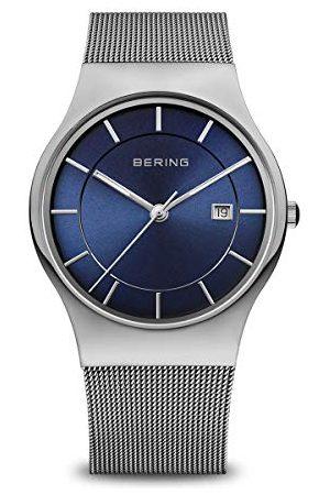 Bering Męski zegarek na rękę analogowy kwarcowy stal szlachetna 11938-003