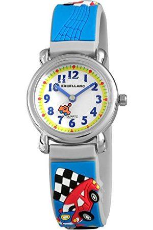 Excellanc Unisex zegarek na rękę analogowy kwarcowy kauczuk 40702300051