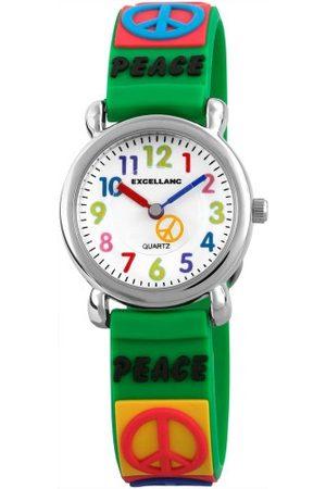 Excellanc Unisex zegarek na rękę analogowy kwarcowy kauczuk 40702600041