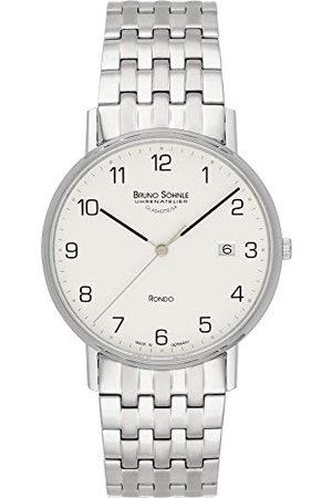 Soehnle Bruno Söhnle męski analogowy zegarek kwarcowy z bransoletką ze stali szlachetnej 17-13105-222
