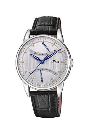 Lotus Męski multicyferblat kwarcowy zegarek ze skórzanym paskiem 18429/1
