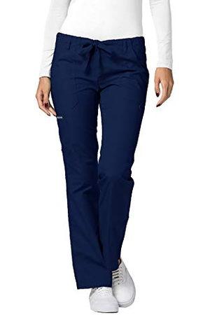 Adar Uniforms Damskie spodnie medyczne 510nvyxs, granatowe, XS UK