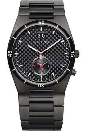 Bering Męski analogowy zegarek kwarcowy z paskiem ze stali nierdzewnej 32341-782