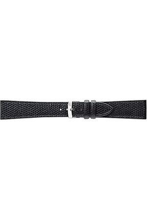 Morellato Bransoletka skórzana do zegarka męskiego POINT czarna 18 mm A01U0112402019CR18