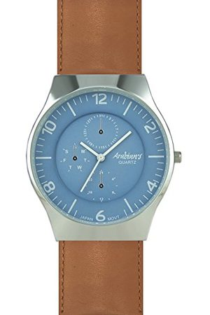 ARABIANS Męski analogowy zegarek kwarcowy ze skórzanym paskiem HBP2209M