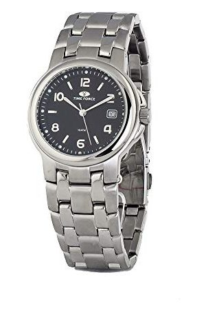Time Force Unisex Dorośli analogowy zegarek kwarcowy z bransoletką ze stali szlachetnej TF2265M-02M