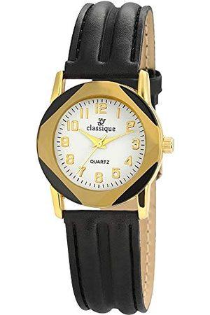 Classique Męski analogowy zegarek kwarcowy ze skórzaną bransoletką RP355020002