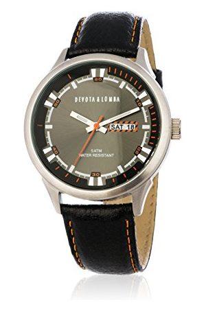 Devota&Lomba Zegarek na rękę analogowy DL010M-01BKBLACK
