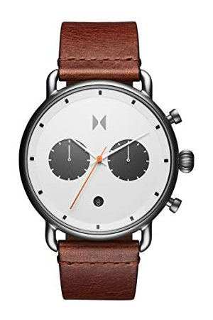 MVMT Mężczyzna Zegarki - Męski analogowy zegarek kwarcowy ze skórzaną bransoletką 2800010-D