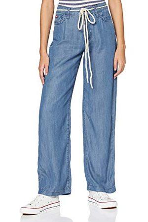 Lee Cooper Damskie spodnie szerokie, swobodne spodnie