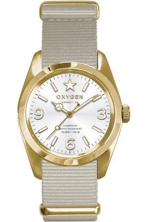 Oxygen Unisex zegarek na rękę Nugget 38 analogowy nylon EX-S-NUG-38-IV