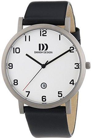 Danish Design Męski zegarek na rękę XL analogowy kwarcowy skóra 3316328
