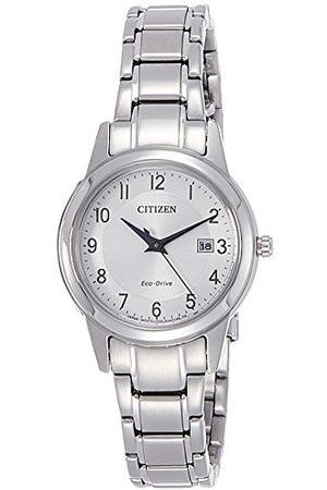 Citizen Damski analogowy zegarek kwarcowy z bransoletką ze stali szlachetnej FE1081-59B