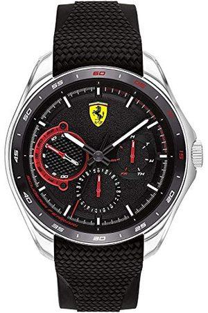 Scuderia Ferrari Męski analogowy zegarek kwarcowy z silikonowym paskiem 0830683