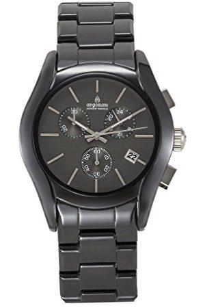 ARGONAU Unisex Dorośli analogowy zegarek kwarcowy z ceramiczną bransoletką AU1400