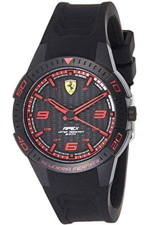 Scuderia Ferrari Męski analogowy zegarek kwarcowy z silikonowym paskiem 0840032