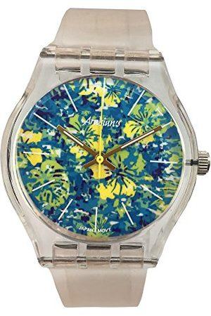 ARABIANS Męski analogowy zegarek kwarcowy z silikonową bransoletką HBA2239A