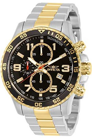 Invicta 14876 specjalistyczny męski zegarek na rękę ze stali nierdzewnej kwarcowy czarna tarcza