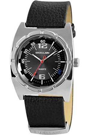 Excellanc Męski zegarek na rękę analogowy kwarcowy skóra 295021000095