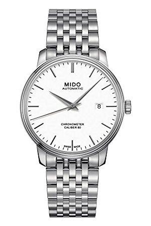 MIDO Męski analogowy automatyczny zegarek z bransoletką ze stali szlachetnej M0274081101100