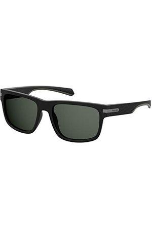 Polaroid Unisex okulary przeciwsłoneczne dla dorosłych, PLD 2066/S, czarne (MTT Black), 55