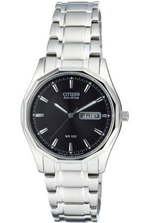 Citizen Męski analogowy kwarcowy zegarek z bransoletką ze stali szlachetnej BM8430-59EE