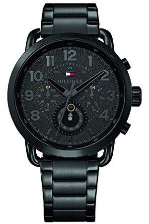 Tommy Hilfiger Męski Multi cyferblat kwarcowy zegarek z bransoletką ze stali szlachetnej 1791423