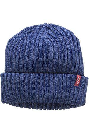 Levi's Unisex czapka z dzianiny Indigo